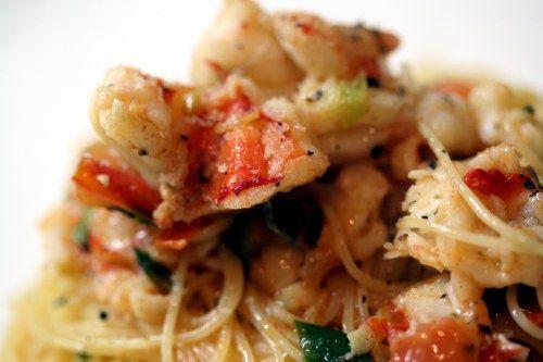 Luxurious King Prawn Spaghetti