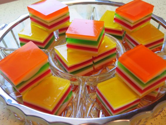 Layered Finger Jello