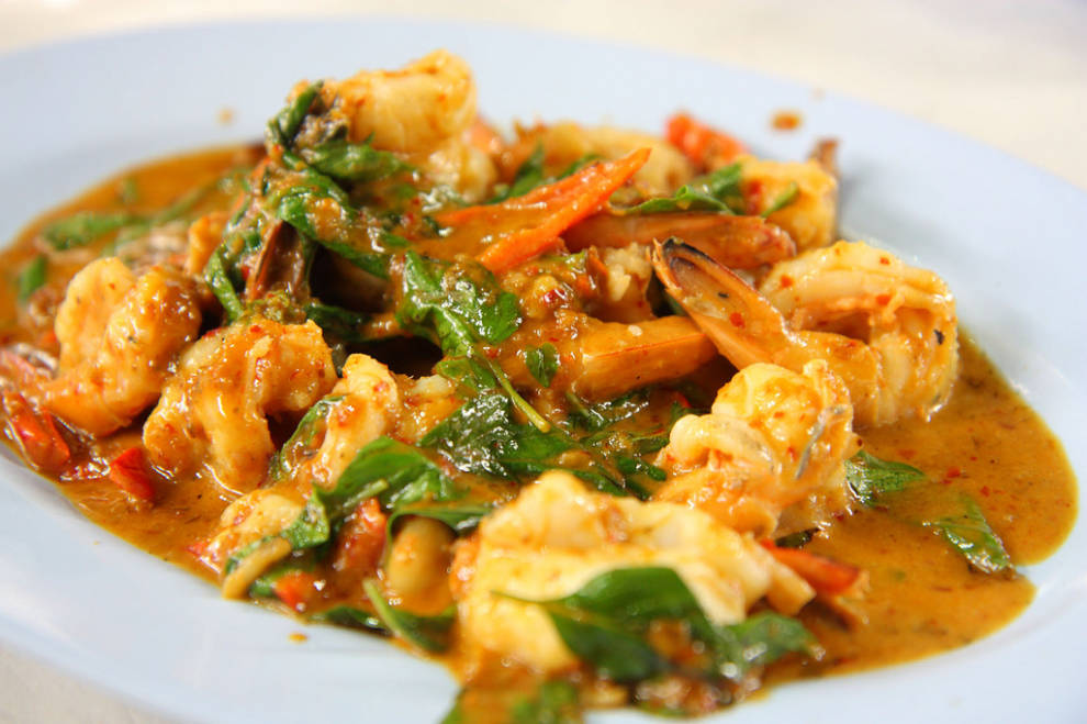 Authentic Prawn Thai Curry